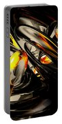 Liquid Chaos Abstract Portable Battery Charger