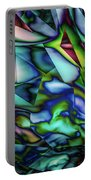 Liquid Geometric Abstract Portable Battery Charger
