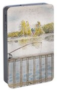Lisbeth Angling. From A Home By Carl Larsson Portable Battery Charger
