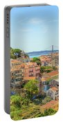 Lisbon Aerial View Portable Battery Charger