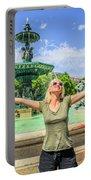 Lisbon Tourism Concept Portable Battery Charger