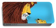 Listen To The Lion Portable Battery Charger