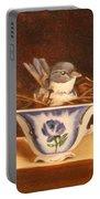 Little Blue Bird Portable Battery Charger