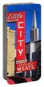 Little City Sign North Beach Portable Battery Charger