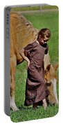 Little Country Girl Portable Battery Charger