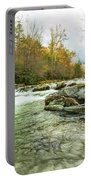 Little Pigeon River Greenbrier Area Of Smoky Mountains Portable Battery Charger
