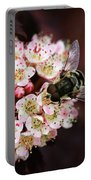 Little Pink Flowers Portable Battery Charger