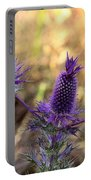 Little Purple Pineapples Portable Battery Charger