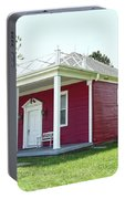 Little Red Schoolhouse, Council Grove Portable Battery Charger