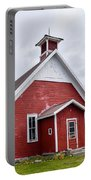 Little Red Schoolhouse Portable Battery Charger
