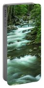 Little River Tremont Area Of Smoky Mountains National Park Portable Battery Charger