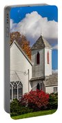 Little White Church Portable Battery Charger
