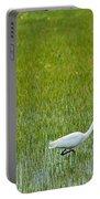 Little White Egret Portable Battery Charger