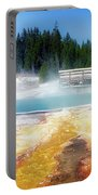 Live Dream Own Yellowstone Park Black Pool Text Portable Battery Charger