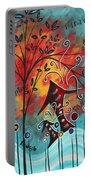 Live Life II By Madart Portable Battery Charger