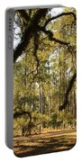 Live Oaks Silhouette Portable Battery Charger
