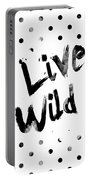 Live Wild Portable Battery Charger by Pati Photography