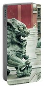 Liverpool Chinatown - Chinese Lion D Portable Battery Charger