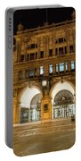 Liverpool Exchange Railway Station By Night Portable Battery Charger