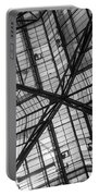 Liverpool Street Station Glass Ceiling Abstract Portable Battery Charger