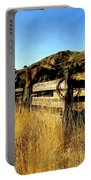 Livery Fence At Dripping Springs Portable Battery Charger