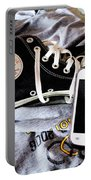 Living In Converse Resting Time  Portable Battery Charger