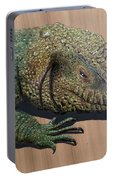 Lizard Art Work Portable Battery Charger