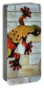 Lizard Wall Art Portable Battery Charger