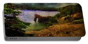 Lake Of Stars Portable Battery Charger