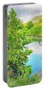 Llano River Scenic Portable Battery Charger