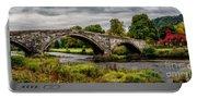 Llanrwst Bridge Panorama Portable Battery Charger