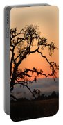 Loan Tree Overlooking Fog Portable Battery Charger