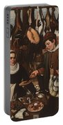 Loarte, Alejandro De Madrid , 1590 - Toledo, 1626 The Poultry Vendor 1626. Portable Battery Charger