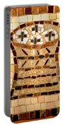 Loaves And Fishes Mosaic Portable Battery Charger