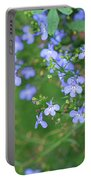 Lobelia Flowers Portable Battery Charger