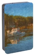 Lobster Boat Boothbay Harbor Portable Battery Charger