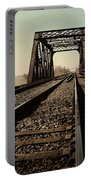 Locomotive Truss Bridge Portable Battery Charger