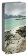 Lofoten Island Beach Scene Portable Battery Charger