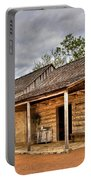Log Cabin In Lbj State Park Portable Battery Charger