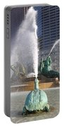Logan Circle Fountain Portable Battery Charger by Bill Cannon