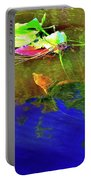 Loggerhead Sea Turtle In The Florida Everglades Portable Battery Charger