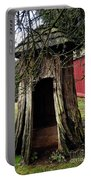 Loggers Outhouse Portable Battery Charger