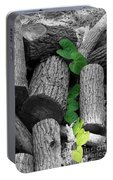 Logs Portable Battery Charger