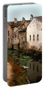 Loire Valley Village Scene Portable Battery Charger