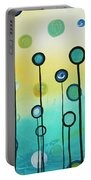 Lollipop Field By Madart Portable Battery Charger