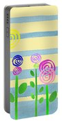 Lollipop Flower Bed Portable Battery Charger