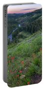 Lolo Creek Spring Portable Battery Charger