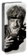 Lon Chaney, Jr. As Wolfman Portable Battery Charger