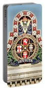 London Chatham And Dover Railway Crest With Invicta Motto Blackfriars Railway Station Portable Battery Charger