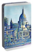London City St Paul's Cathedral Portable Battery Charger